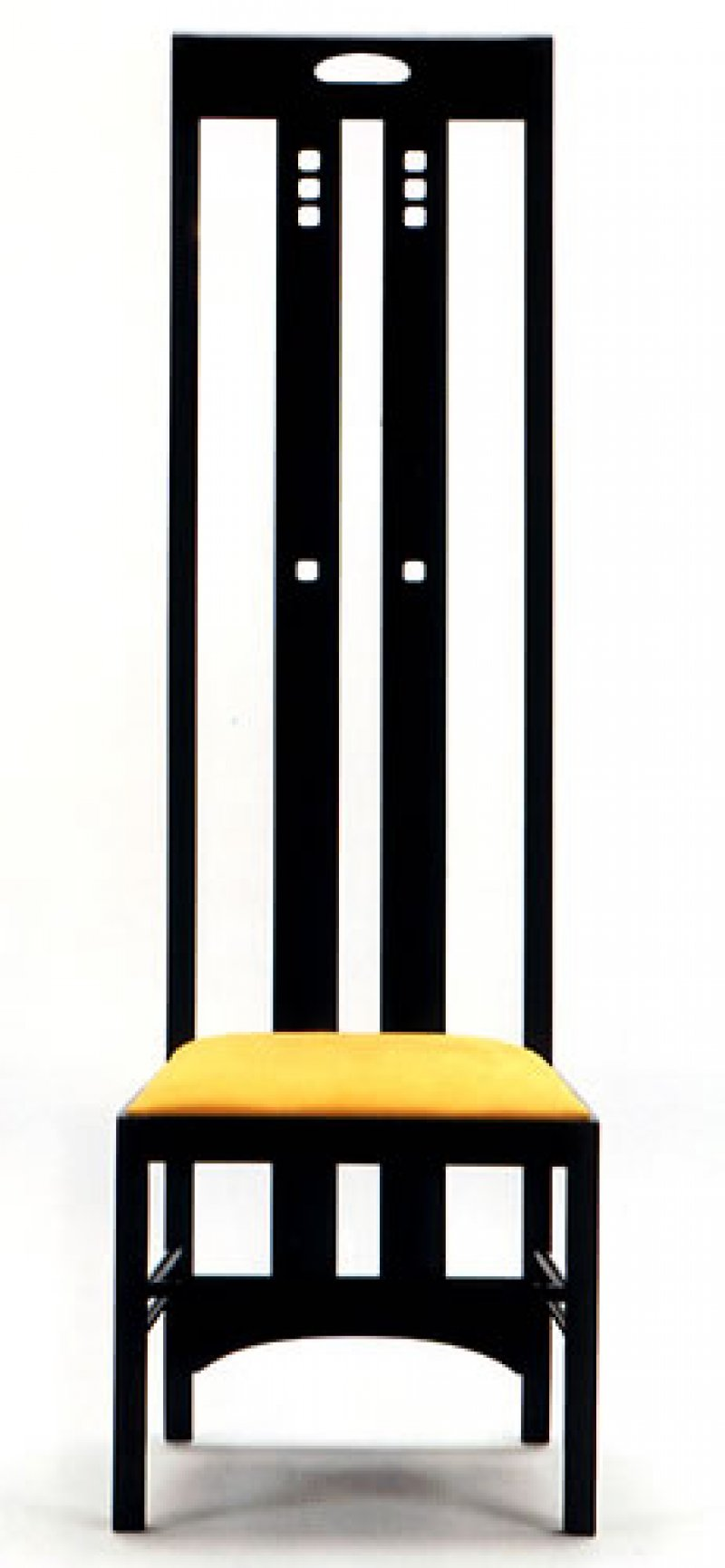 Ingram Chair Charles Rennie Mackintosh Bauhaus Italy