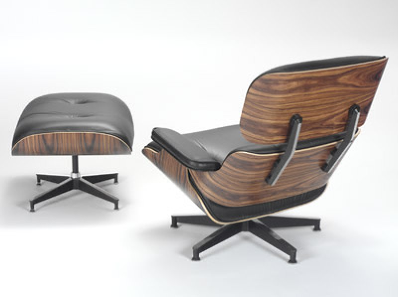 Eames lounge chair and ottoman bauhaus italy for Chaise design eams
