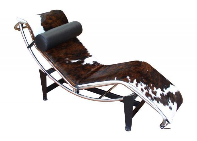 Chaise loungue for Chaise longue pony lc4 le corbusier