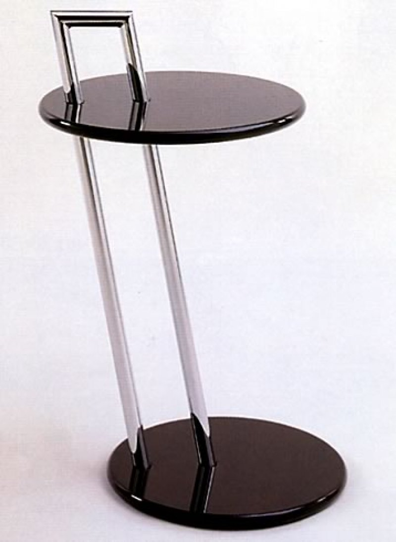 eileen gray side table bauhaus italy. Black Bedroom Furniture Sets. Home Design Ideas