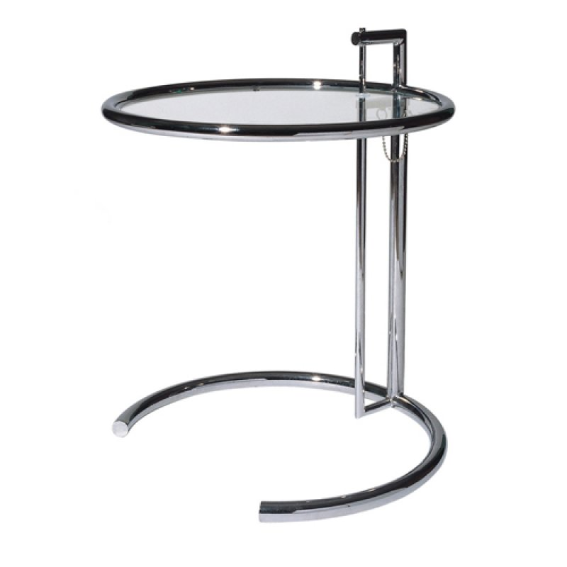 adjustable table eileen gray bauhaus italy. Black Bedroom Furniture Sets. Home Design Ideas