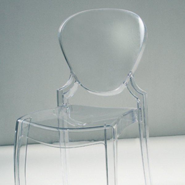 Sedia policarbonato trasparente for Sedie made in italy