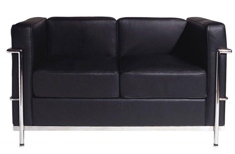 Sofa 2 seat for Bauhaus sofa le corbusier