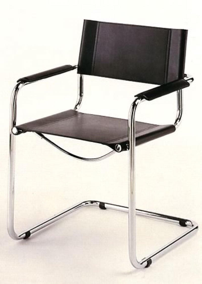 Mart Stam Cantilever Chair With Armrests Bauhaus Italy