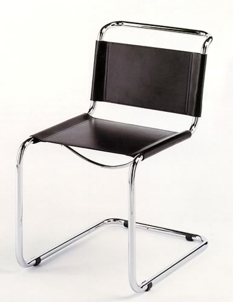 mart stam cantilever chair bauhaus italy. Black Bedroom Furniture Sets. Home Design Ideas