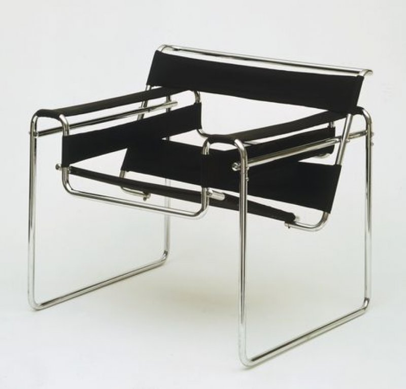 wassily chair b3 marcel breuer bauhaus italy. Black Bedroom Furniture Sets. Home Design Ideas