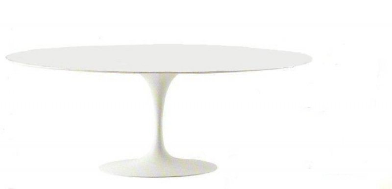 Saarinen tulip table bauhaus italy - Saarinen table ovale ...
