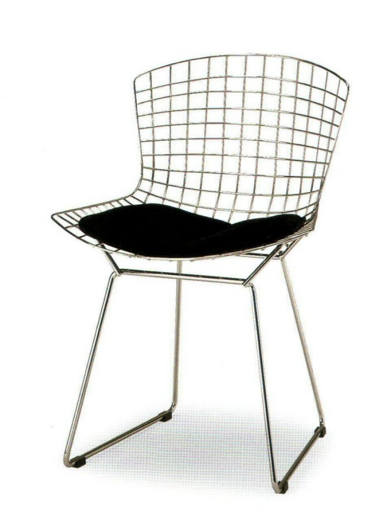 harry bertoia wire chair bauhaus italy. Black Bedroom Furniture Sets. Home Design Ideas