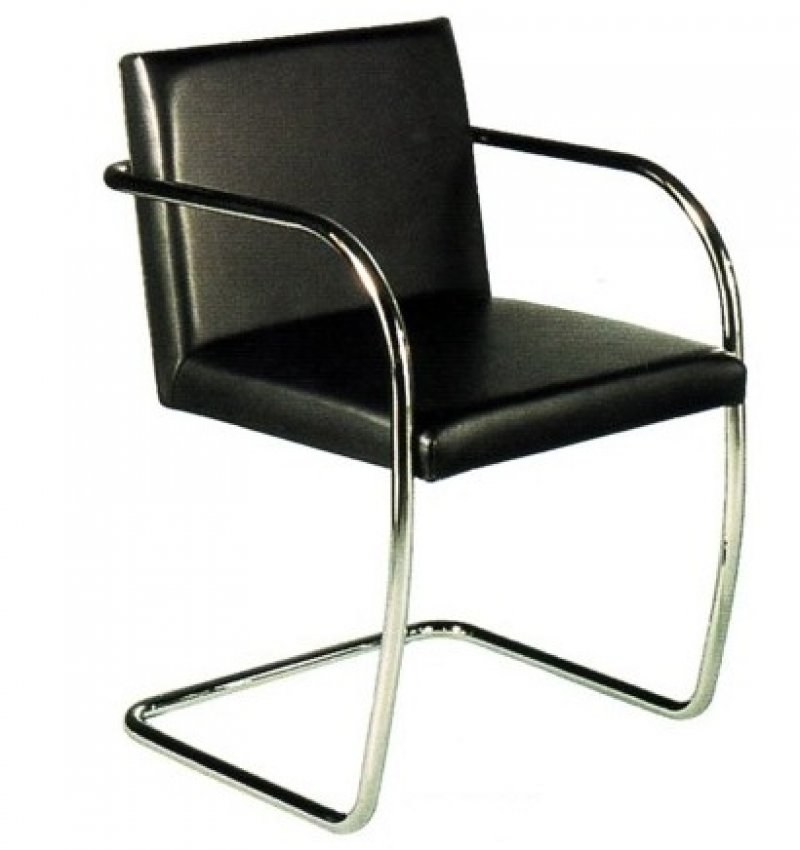 brno chair by ludwig mies van der rohe bauhaus italy. Black Bedroom Furniture Sets. Home Design Ideas