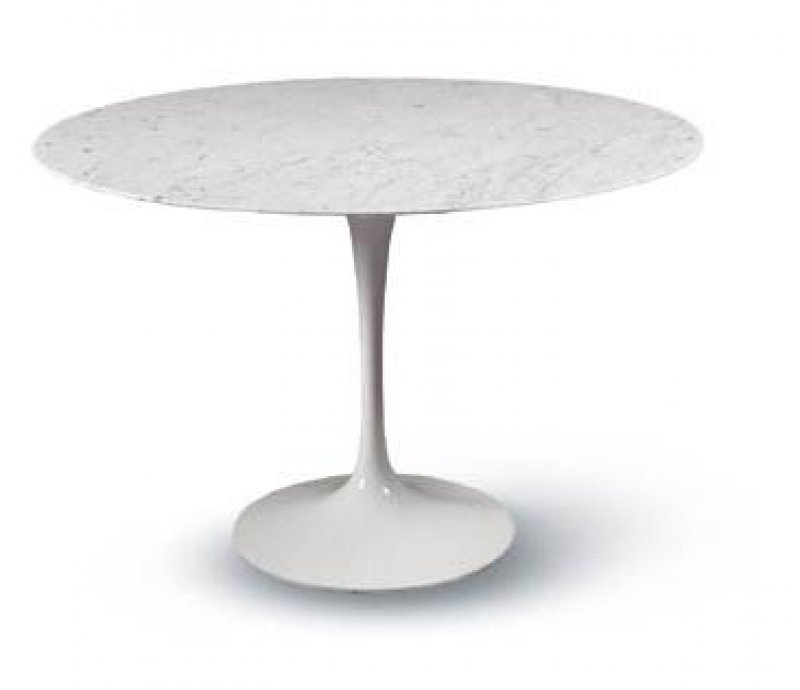 Saarinen Tulip Table Carrara Bauhaus Italy - Original saarinen tulip table