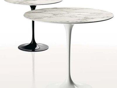 EERO SAARINEN TULIP COFFEE TABLE H. 51