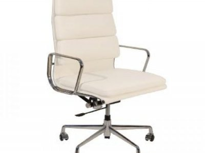 EAMES HIGH BACK LEATHER CHAIR