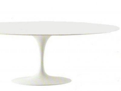 Table EERO SAARINEN TULIP TABLE 199x121 fluid laminated