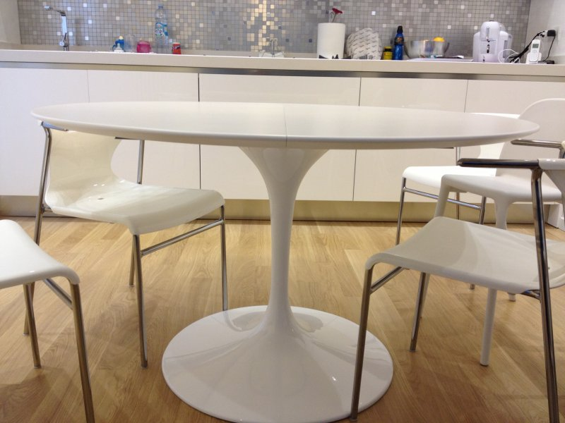 Eero Saarinen Extendable Table