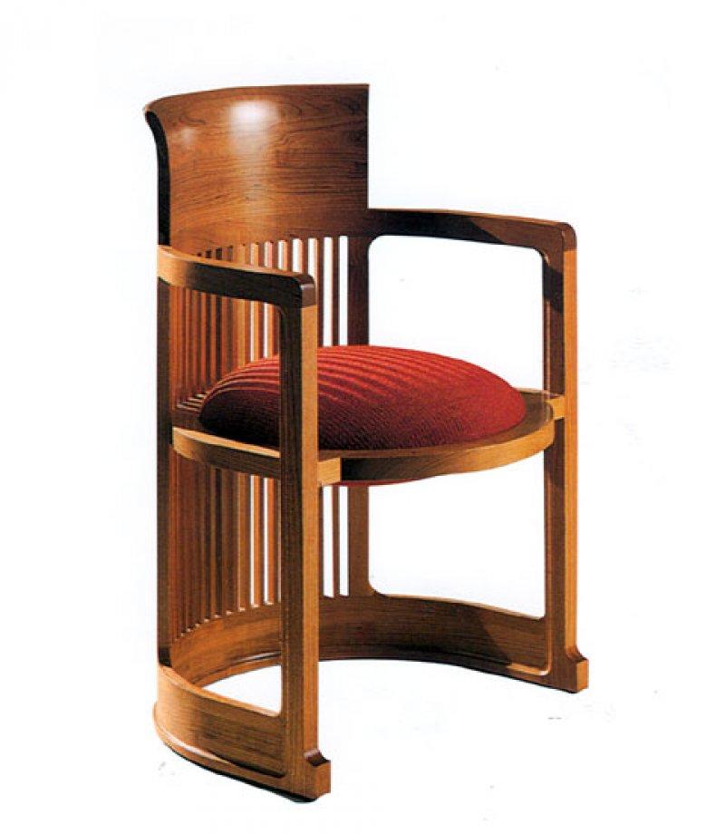Frank Lloyd Wright Furniture Barrel Chair